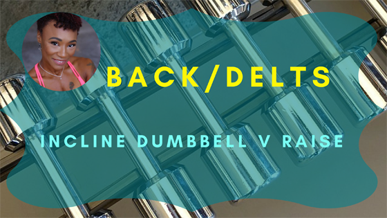 back delts incline dumbbell v raise