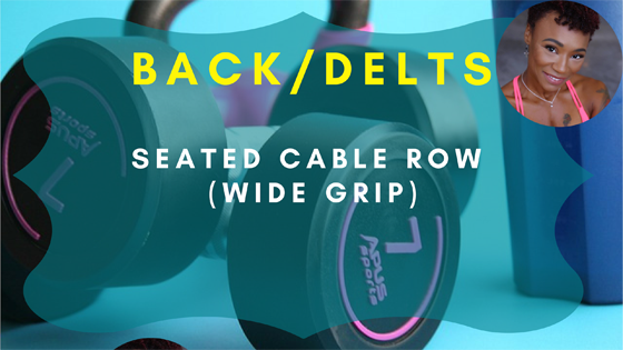 Seated Cable Row Wide Grip