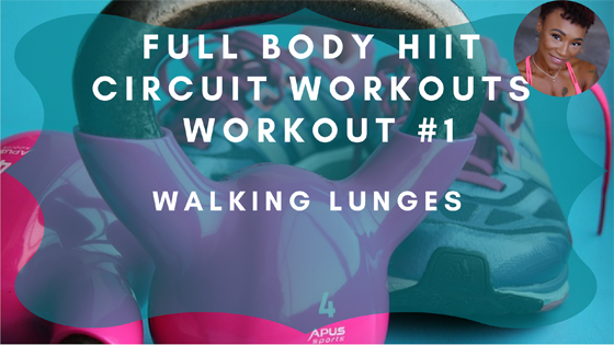 Walking Lunges HIIT Workout 1