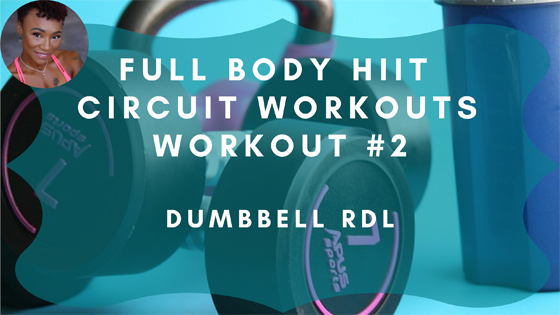 Dumbbell RDL HIIT Workout 2