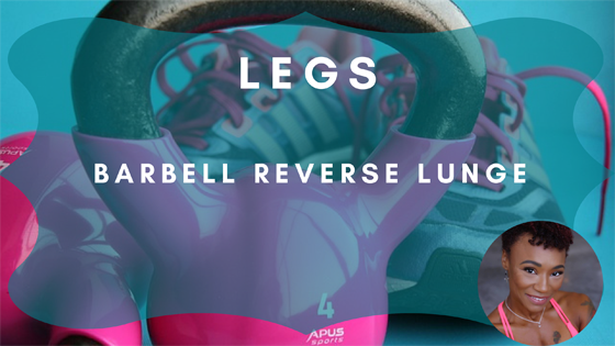 Barbell Reverse Lunge