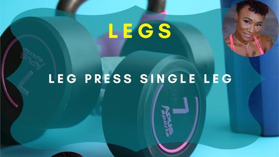 leg press single leg