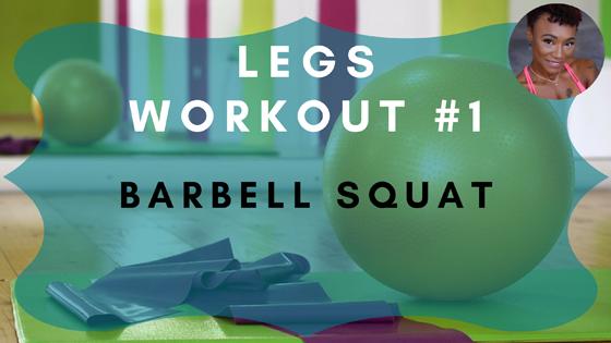 Barbell Squat Leg Workout 1