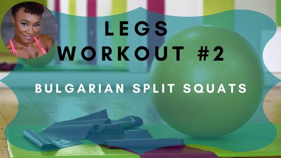 Bulgarian Split Squats Leg Workout 2