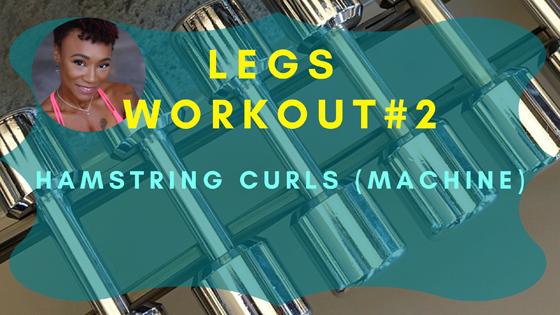Hamstring Curls Legs Workout 2