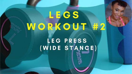 Leg Press Wide Stance