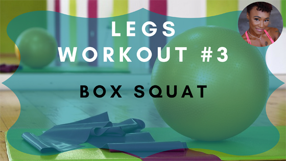 Box Squat Legs Workout 3
