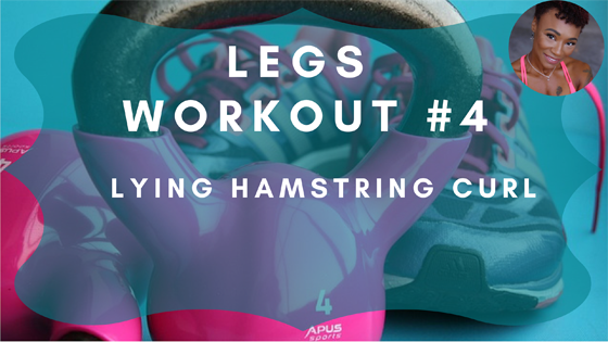 Lying Hamstring Curl Legs Workout 4
