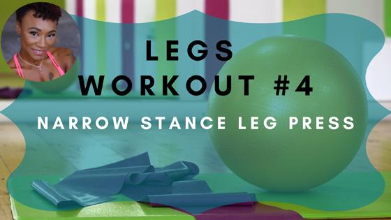Narrow Stance Leg Press Legs Workout 4