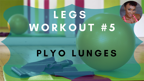 Plyo Lunges Legs Workout 5