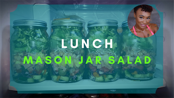 mason jar salad lunch