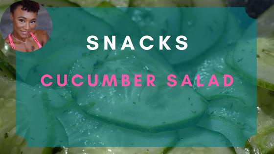 cucumber salad snacks