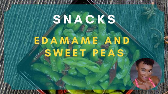 edamame sweet peas snacks