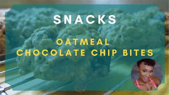 oatmeal chocolate chip bites snacks