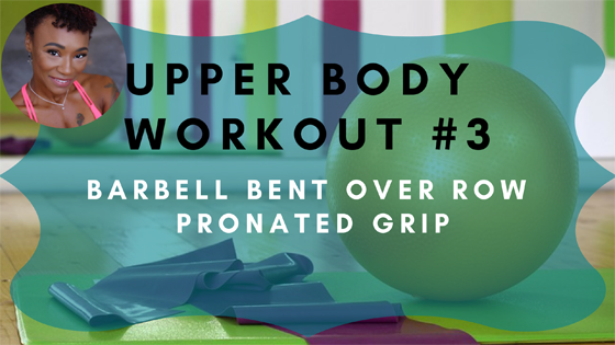 Barbell Bent Over Row Pronated Grip Upper Body Workout 3