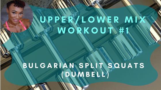 Bulgarian Split Squats Dumbbell